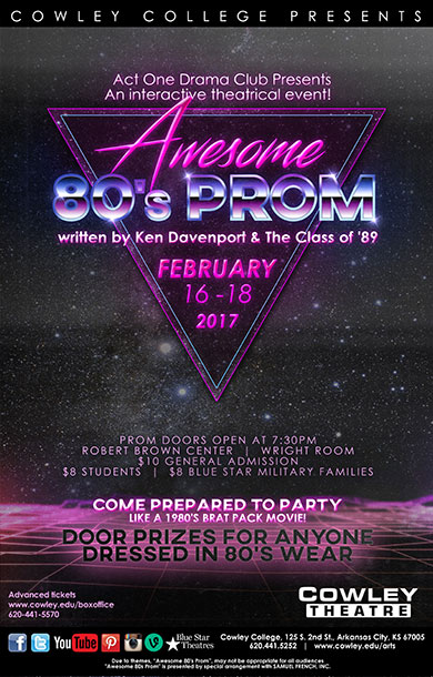 Tickets on sale for Awesome 80's Prom
