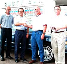 automotive department receives car from rusty eck ford. Black Bedroom Furniture Sets. Home Design Ideas
