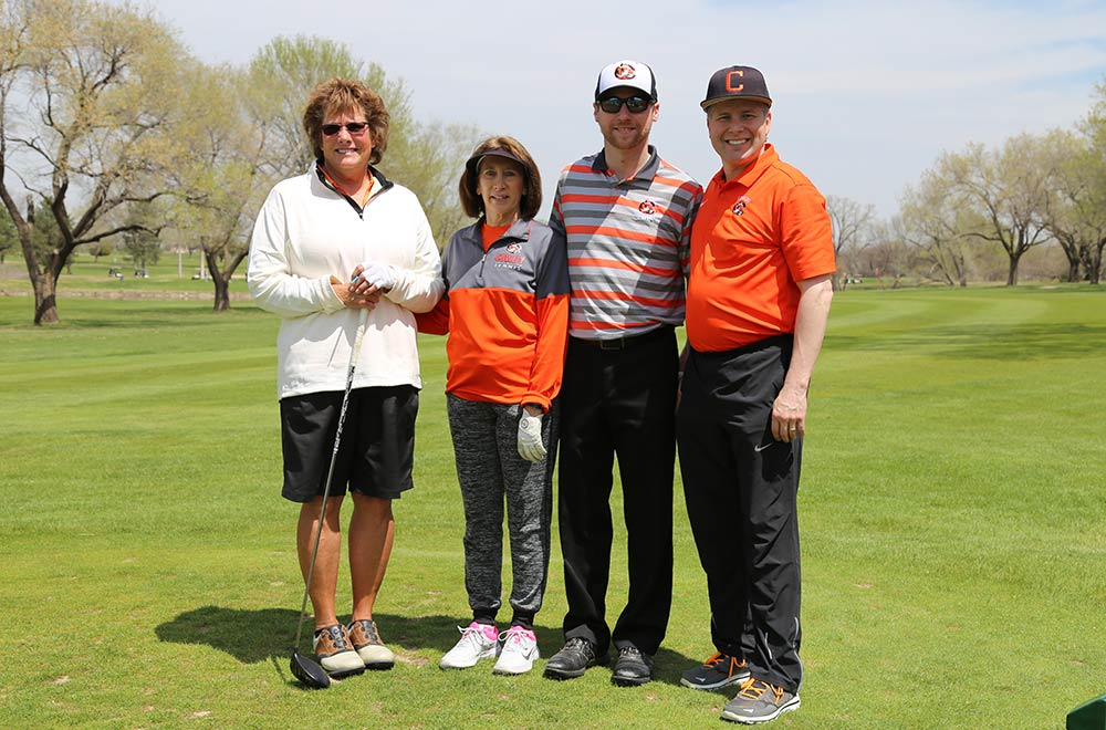 cowley employees take part in jobs fore youth golf tournament
