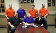 Arkansas City high school student Tyler Shannon becomes first Cowley College wrestling signee