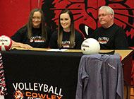 Volleyball standout from Arkansas signs with Cowley