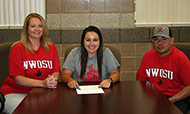Sanchez signs to play softball at Northwestern Oklahoma State