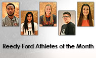Reedy Ford Athletes of the Month recognized at Cowley