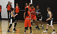 Silva helps Cowley blow out Colby 82-44