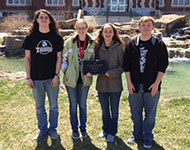 Collegiate Quiz Bowl team places fourth at state championship