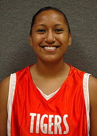 Gabby Curtis, a two-time all-conference member of the Cowley College womens basketball team