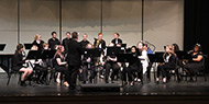 Spring band concert performed at Cowley College