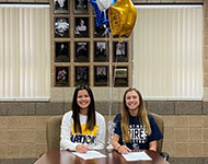 Vanriette, McKay sign to play volleyball at University of Saint Mary