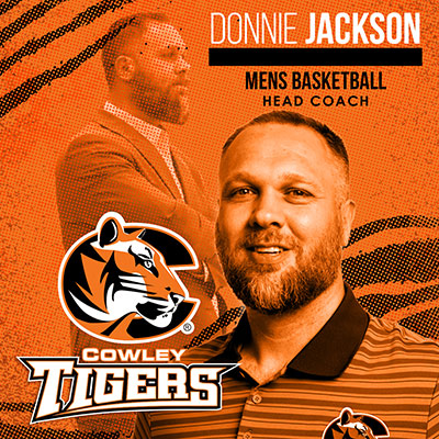Donnie Jackson named 21st head coach in history of Tiger basketball program